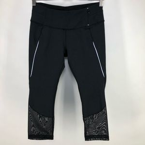 Calia Carrie Underwood M Black Capris Leggings